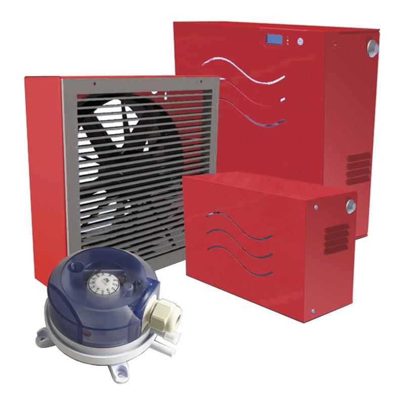 Pressurizzatori locali filtri fumo