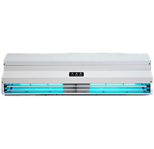 barriera d'aria luce UV elicent